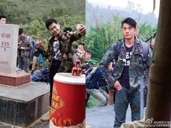 'Ông bố không tuổi' Lâm Chí Dĩnh cùng thiên vương Hongkong Quách Phú Thành bất ngờ xuất hiện ở Việt Nam