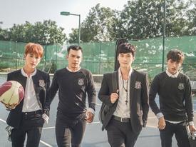 Trai đẹp Huỳnh Anh gia nhập nhóm nhạc cùng em trai Hoài Lâm