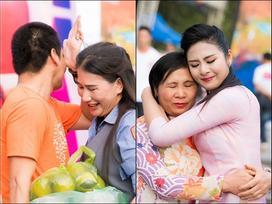 Hoa hậu Ngọc Hân, MC Phan Anh bật khóc trước món quà bất ngờ