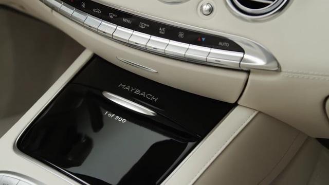 Chỉ có 300 chiếc Mercedes-Maybach S650 Cabriolet được xuất xưởng.
