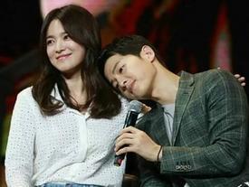 Hành động của Song Joong Ki dành cho Song Hye Kyo được dân mạng tán thưởng