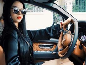 Bentley Bentayga 21 tỷ Đồng của nhà chồng hot girl Huyền Baby tái xuất trên phố Sài thành