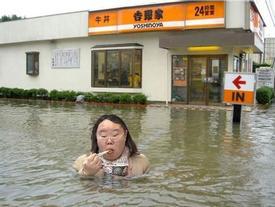 Hình ảnh vui nhộn chỉ có tại châu Á