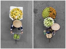 Bộ ảnh gánh hàng rong ở Việt Nam lên báo Mỹ
