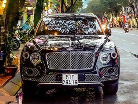 Ảnh Bentley Bentayga - siêu SUV giá 19 tỷ đồng ở Sài Gòn