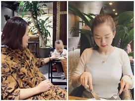 Ly 'Kute' đưa Khoai Tây đi ăn với bà ngoại
