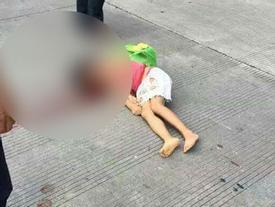 Sang đường, bé gái bị ô tô 7 chỗ tông xa hàng chục mét