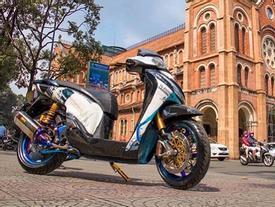 Biker nổi tiếng nhất Sài thành chi 200 triệu Đồng để độ Honda SH150i