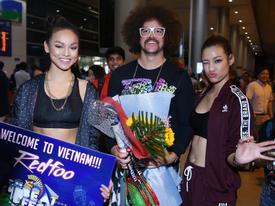 Mai Ngô và Lilly Nguyễn cực cá tính đón ông hoàng party Rock đến Việt Nam