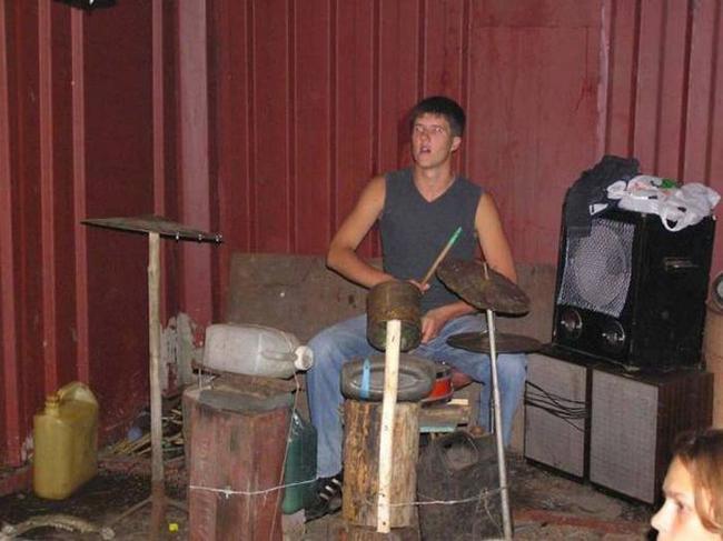 Как сделать самодельные барабаны