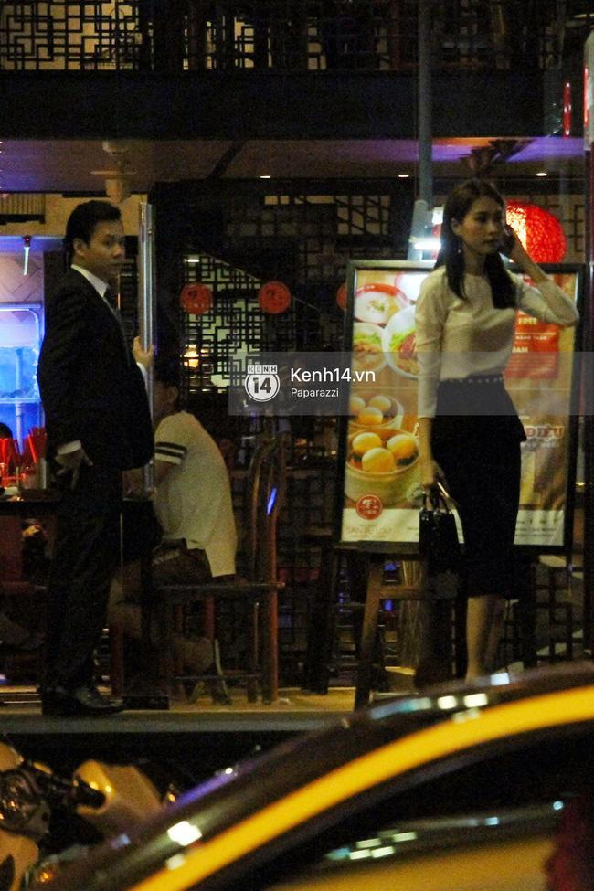 Hoa hậu Thu Thảo hạnh phúc đi ăn tối cùng bạn trai sau khi dự sự kiện - Ảnh 8.