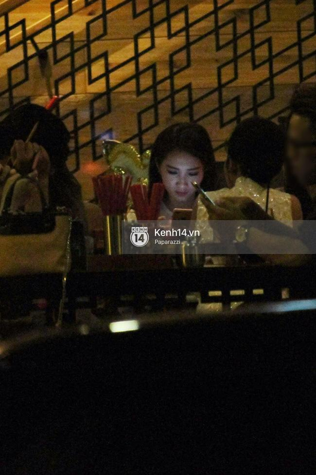 Hoa hậu Thu Thảo hạnh phúc đi ăn tối cùng bạn trai sau khi dự sự kiện - Ảnh 5.