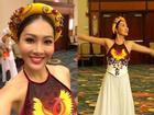 Diệu Ngọc được chủ tịch Miss World khen ngợi với phần thi Tài năng