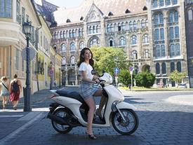 Xe máy tay ga phong cách châu Âu chỉ 30 triệu đồng