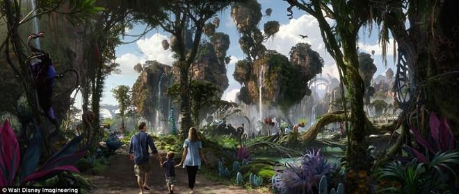 The gioi ky ao Pandora cua 'Avatar' xuat hien o Disneyland hinh anh 1