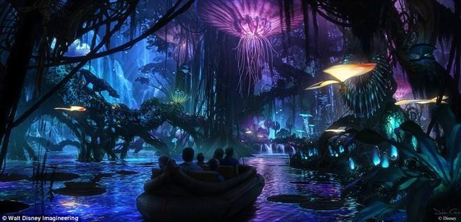 The gioi ky ao Pandora cua 'Avatar' xuat hien o Disneyland hinh anh 2