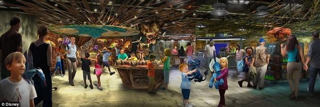 The gioi ky ao Pandora cua 'Avatar' xuat hien o Disneyland hinh anh 5
