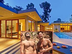 """Cuộc sống """"sang choảnh"""" trong 'pháo đài' 300 tỷ đồng của Ricky Martin với người tình đồng giới"""