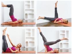 Không cần plank hay squat, đây là 5 bài tập chỉ nằm thôi mà đảm bảo phẳng bụng