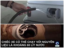 Nhà khoa học Iran phát minh ra ô tô chạy bằng nước lã