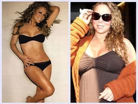 Mariah Carey xuống sắc xập xệ vì 'nặng nợ' với mỡ