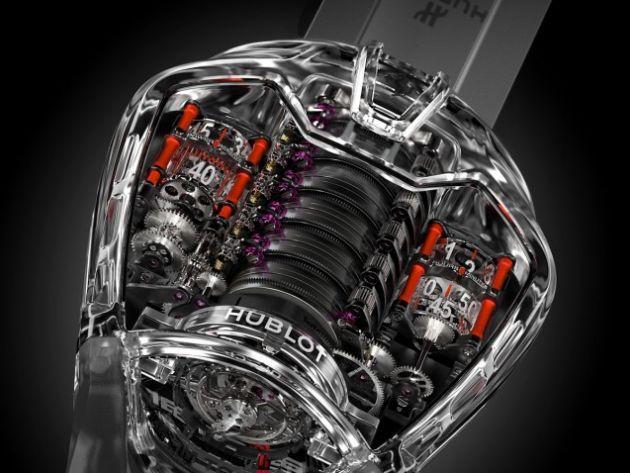Siêu đồng hồ Hublot MP-05 LaFerrari phiên bản trong suốt ra đời như thế nào? - Ảnh 1.