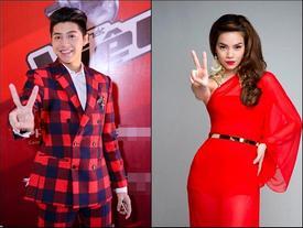Noo Phước Thịnh và Hồ Ngọc Hà sẽ ngồi ghế nóng The Voice 2017?