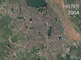 Việt Nam thay đổi qua 30 năm nhìn từ Google Maps