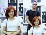 Cãi vã chán chê, Lâm Á Hân lại gây bất ngờ khi vui vẻ đi cắt tóc với chồng cũ