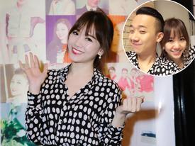 Hari Won diện áo đôi cùng Trấn Thành lần đầu tiên giới thiệu hit mới