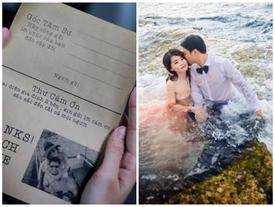 Thiệp cưới 'Lệnh truy nã' của đôi trẻ Sài Gòn