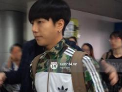 Kết thúc lịch trình tại Việt Nam, Yesung lên đường trở về Hàn Quốc chiều nay