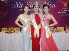 Cô sinh viên Đà Nẵng đăng quang Hoa khôi