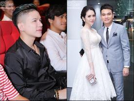 Hoàng Tôn mặt thẩm mỹ đã bớt sưng tới dự 'ngày cưới' của Khắc Việt