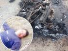 Trộm chó bất thành, thanh niên bị người dân vây đánh bất tỉnh, đốt xe