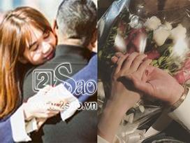 Ngọc Trinh đăng ảnh bạn trai đại gia cầm tay trên bó hoa tươi thắm tại Los Angeles