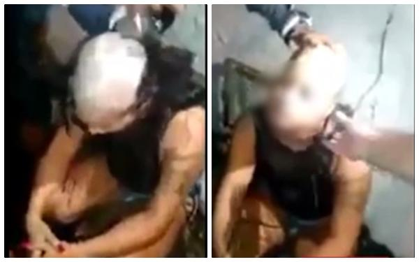 Kinh hoàng cảnh người đàn ông cạo lông mày và tóc bạn gái vì tội ngoại tình - Ảnh 1.