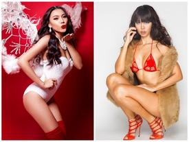 """Khi mỹ nữ Việt hóa thân thành """"bà già Noel"""" sexy hết nấc"""