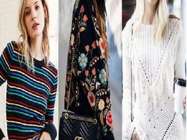 Truy tìm 3 mẫu áo sweater sẽ khiến bạn vô cùng điên đảo trong mùa Đông này!