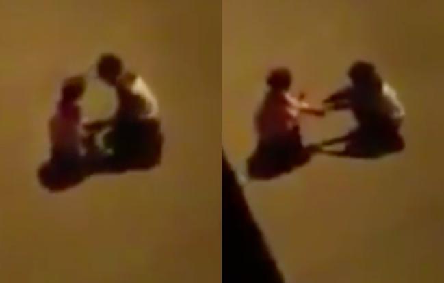 Quỳ gối xin lỗi cô gái bất thành, thanh niên xông ra đập phá xe taxi đang chở sản phụ đi đẻ - Ảnh 1.