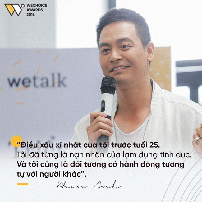 Clip: MC Phan Anh bất ngờ tiết lộ từng là nạn nhân bị lạm dụng tình dục - Ảnh 2.