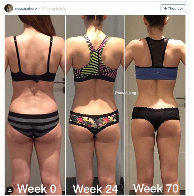 Giảm cân rồi lại tăng cân nhưng người phụ nữ này vẫn có thân hình không chê vào đâu được - Ảnh 2.