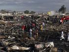Nổ chợ pháo hoa nổi tiếng nhất Mexico, 27 người chết