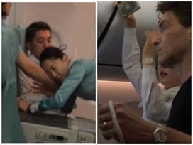 Thanh niên say xỉn nhổ nước bọt vào mặt tiếp viên hàng không gây phẫn nộ