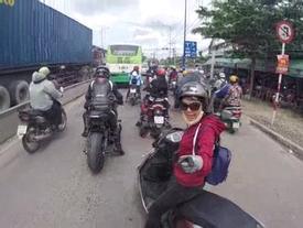 """""""Thánh lead"""" tạt đầu xe cảnh cáo biker: """"chạy xe phải có não và lương tâm"""""""