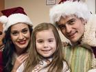 Katy Perry và Orlando Bloom hóa ông bà già Noel