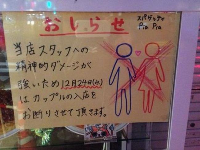 Nhà hàng từ chối phục vụ cặp đôi dịp Giáng sinh vì sợ nhân viên F.A bị tủi thân - Ảnh 1.