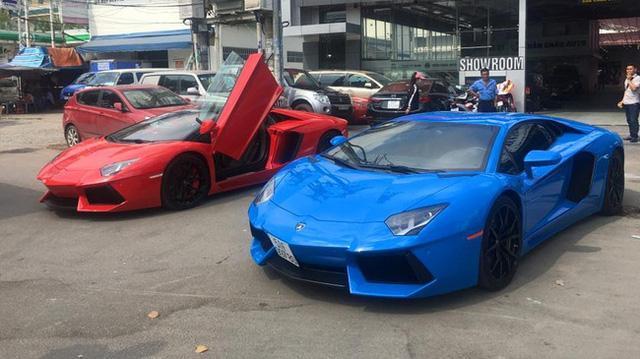 Lamborghini Aventador màu độc của đại gia Sài thành trang bị ống xả độ 205 triệu Đồng - Ảnh 7.