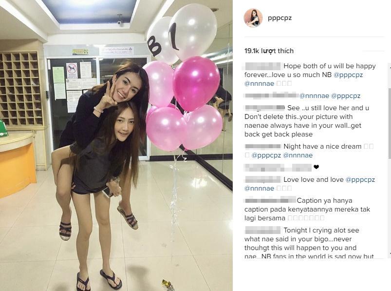 Gần đâyBatz đã đăng bức ảnh cũ của cô vàNaenae khiến nhiều người hi vọng hai cô gái sẽ tái hợp vào một ngày không xa.