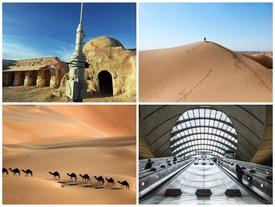 """Những địa danh đẹp ma mị xuất hiện trong phim """"Star Wars"""""""